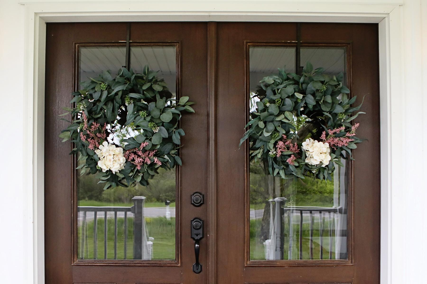 Hearth & Hand Eucalyptus Wreaths Update/Refresh