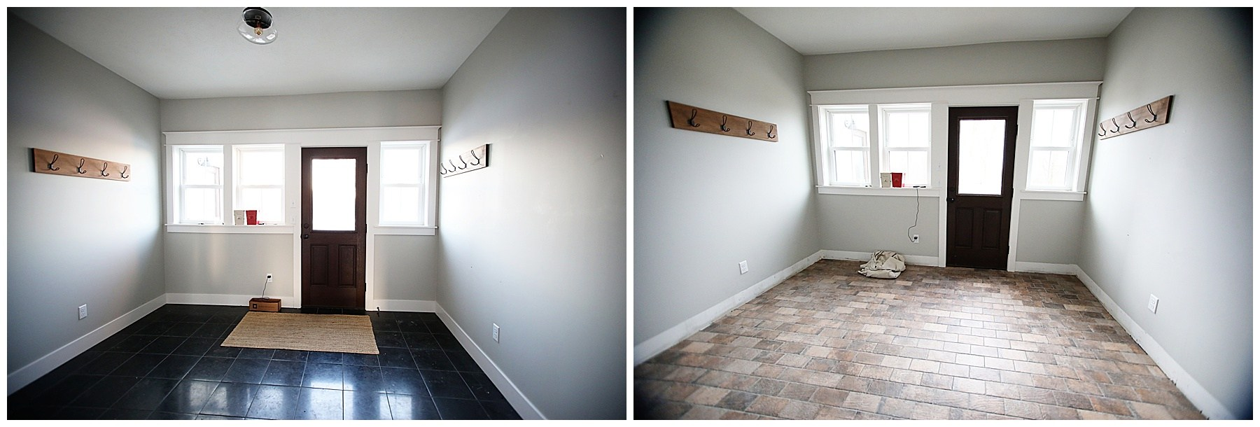 Farmhouse home renovation progress