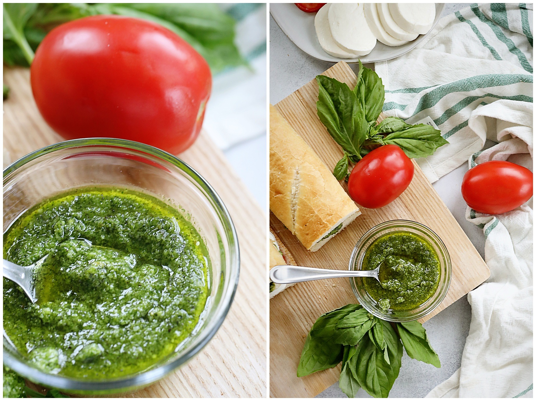 Simple and delicious Basil Pesto recipe