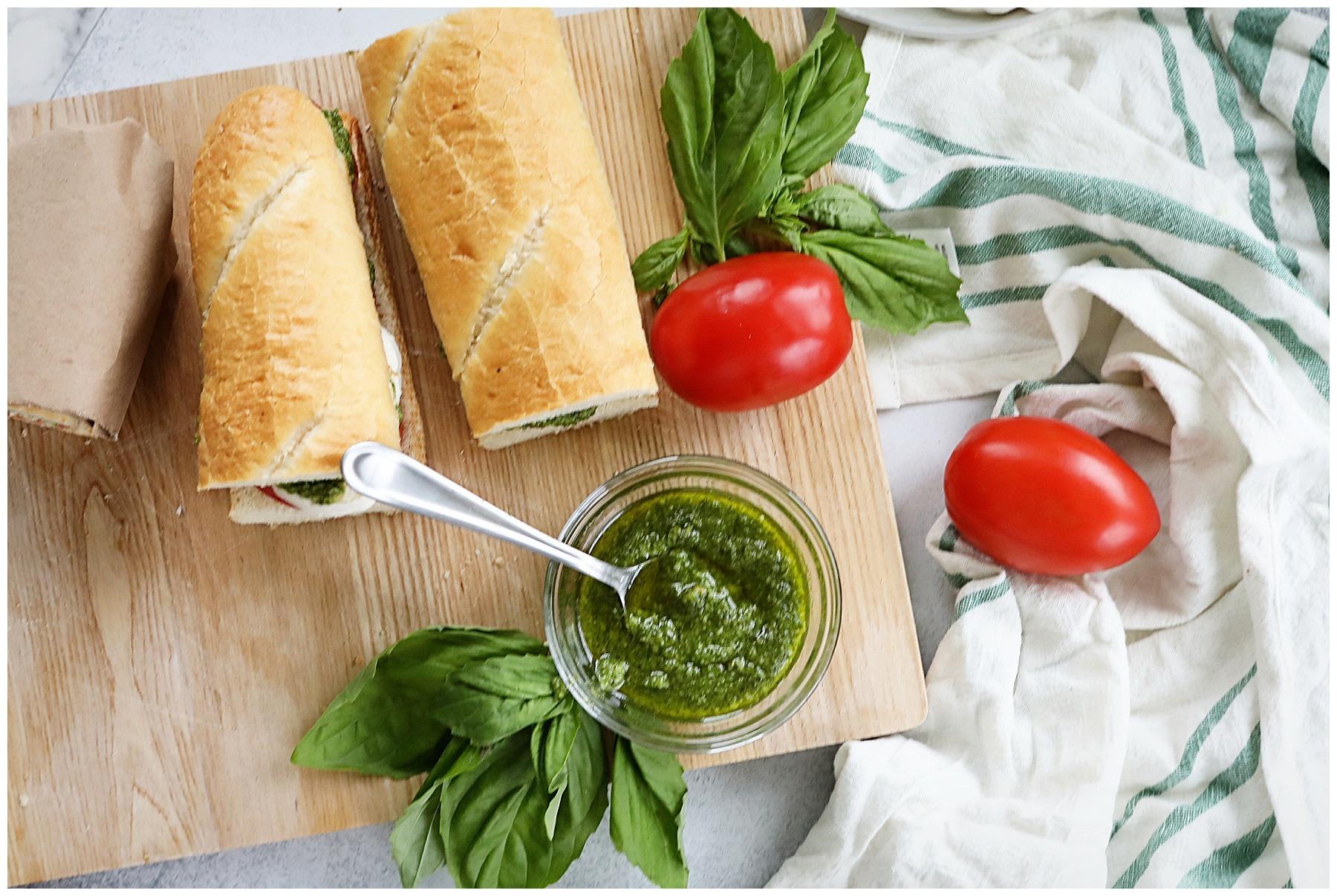 Simple and delicious Basil Pesto recipe