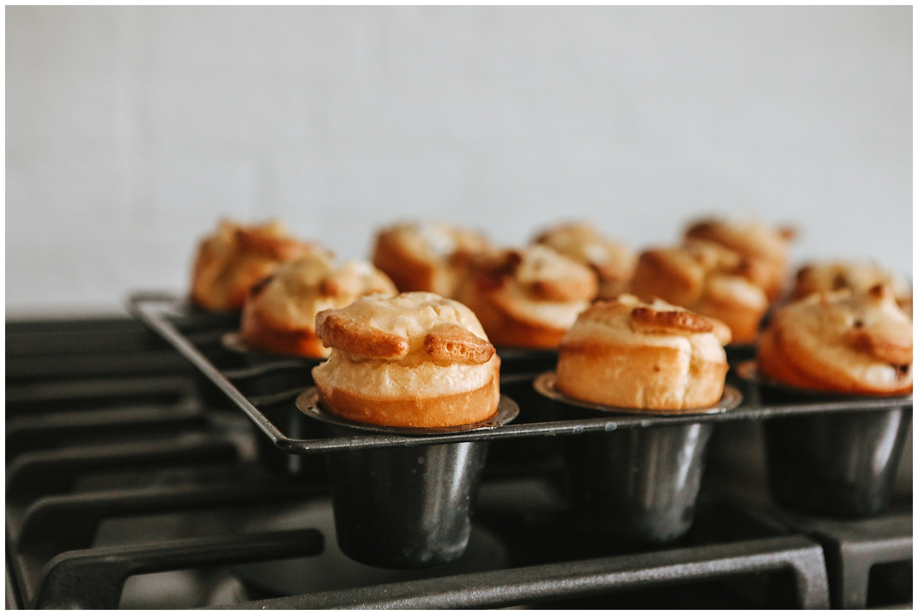 Bacon & Goat Cheese Popovers