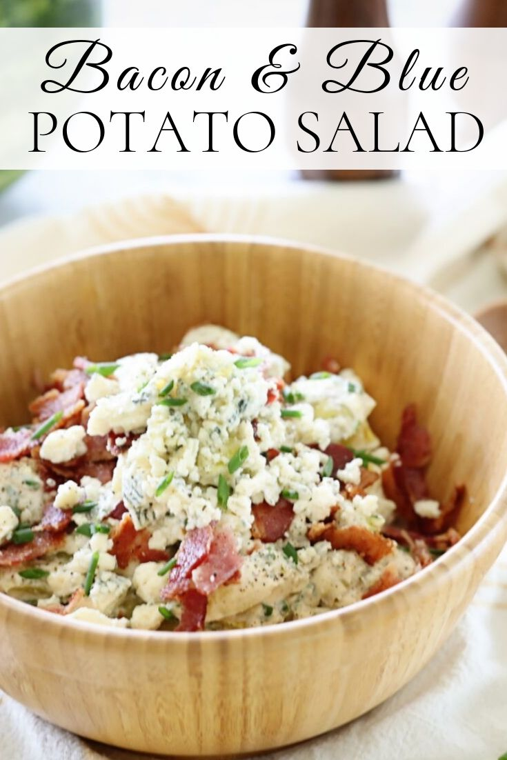 Bacon & Blue Potato Salad Recipe