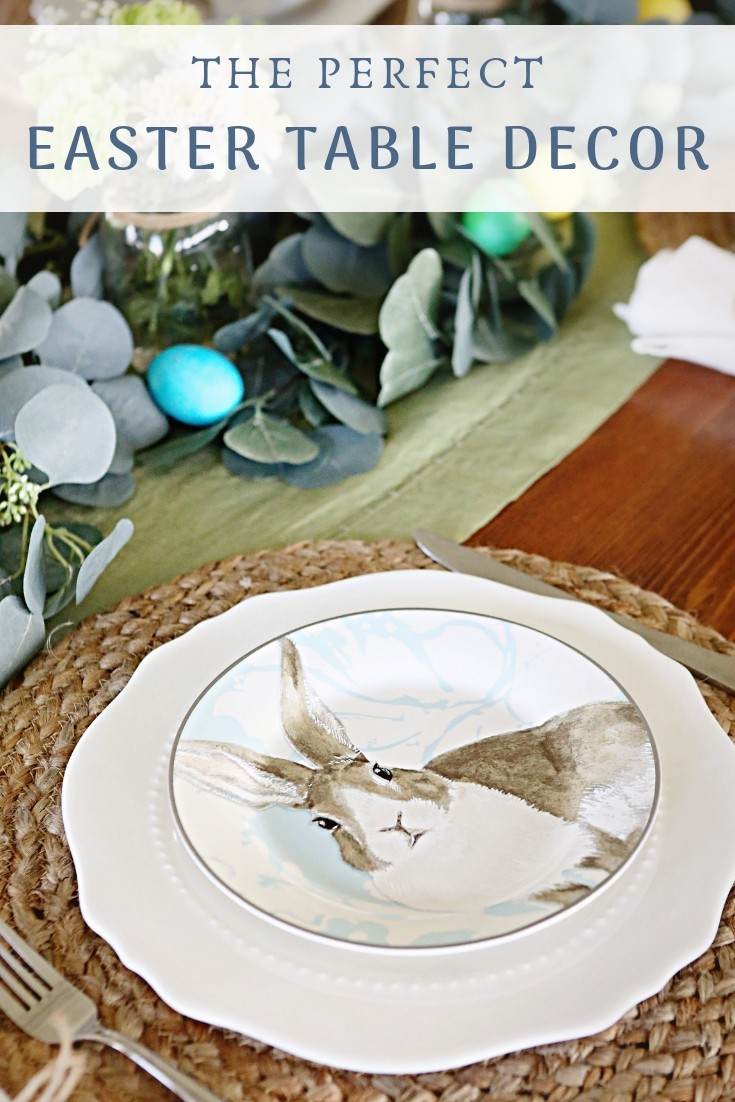 Easter table decor